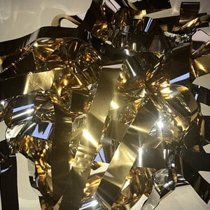 Бумага металлизированная золото и серебро для шоу