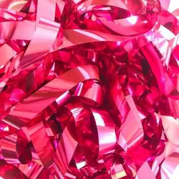Бумага металлизированная розовая для шоу