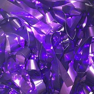 Бумага металлизированная фиолетовая для шоу
