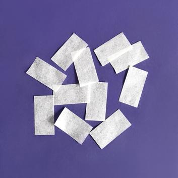 Конфетти бумажное белое