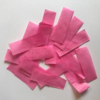 Конфетти бумажное розовое для шоу