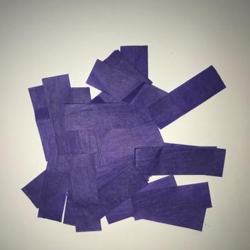 Конфетти бумажное фиолетовое для шоу