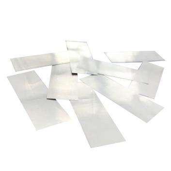 Конфетти металлизированное белое для шоу