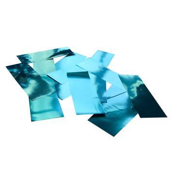 Конфетти металлизированное голубое для шоу