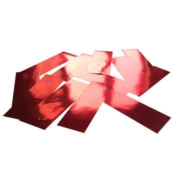 Конфетти металлизированное красное для шоу