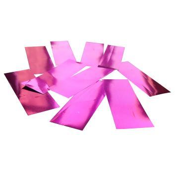 Конфетти металлизированное розовое для шоу