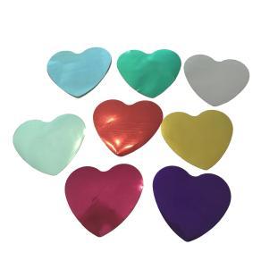 Конфетти металлизированное сердце для шоу