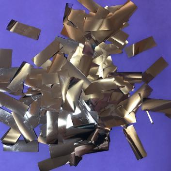 Конфетти металлизированное серебро для шоу