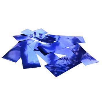 Конфетти металлизированное синее для шоу