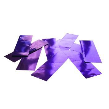 Конфетти металлизированное фиолетовое для шоу