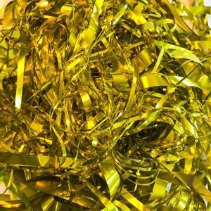 Обрезь металл золото для шоу